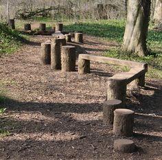 backyard natural playground ideas # hinterhof natürlichen spielplatz ideen # id. Natural Outdoor Playground, Kids Outdoor Play, Outdoor Play Spaces, Kids Play Area, Backyard Playground, Backyard For Kids, Outdoor Games, Outdoor Fun, Playground Ideas