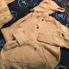 Wool Carhartt Sweater So cute and very well made sweater from Carhartt. Worn only twice Until I discovered I'm allergic to lambs wool. Hope it finds a happy home Carhartt Tops Sweatshirts & Hoodies