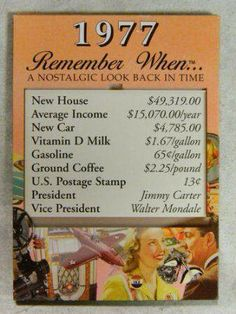 Remember When Magnet 1941 Nostalgic Look Back In Time Great for Birthdays Cost Of Living, Oldies But Goodies, I Remember When, Good Ole, Back In Time, The Good Old Days, History Facts, Gag Gifts, Looking Back