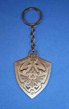 Legend of Zelda Hyrule Hylian Shield Keychain