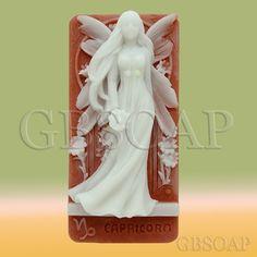 Zodiac Capricorn Fairy handmade soap by egbhouse on Etsy, $7.50