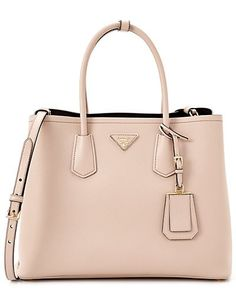 Gorgeous nude Prada bag// love the style and the color//