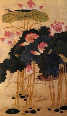 Folk painting from the Joseon Dynasty
