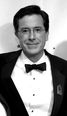 Stephen Colbert, because funny is hot, and the man looks divine in a tuxedo
