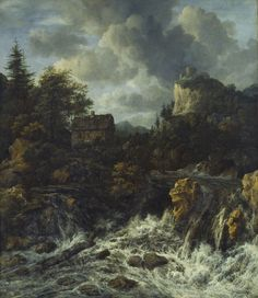 Jacob van Ruisdael - Waterval #5