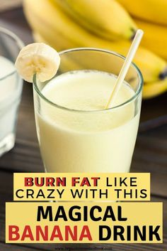 Balanced diet and regular physical activity are of key importance when it comes to weight loss. Try this delicious banana smoothie that can help you to melt fat! It is healthy, delicious and fat burning, and Detox Cleanse For Weight Loss, Full Body Detox, Cleanse Diet, Body Cleanse, Juice Cleanse, Healthy Detox, Healthy Drinks, Healthy Weight, Diet Drinks