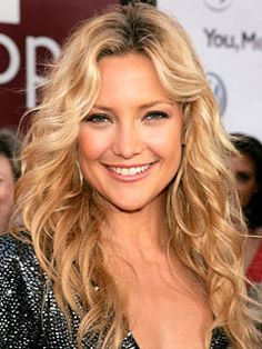 hair....always tell people that if I could look like a celebrity it would be her! Love Kate Hudson