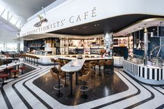 The Perfectionists Café design by Afroditi Krassa The Perfectionists Café design by Afroditi Krassa, Heathrow T2   UK