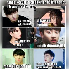 meme comik BTS part II (vkook/Taekook, namjin, yoonmin, jhope (? Funny Kpop Memes, Exo Memes, Boy Meme, Bts And Exo, Namjin, Read News, Yoonmin, Funny Faces, Taekook