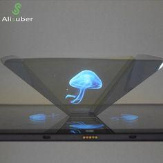3D Hologram Display-Indoor Pyramid Hologram For ipad Smartphone Tablet PC