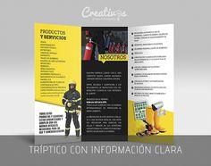Triptico para Sistemas de Seguridad y Protección Civil