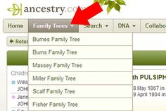 How To Export Your Family Tree From Ancestry.com ~ Teach Me Genealogy
