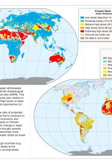global water stress outlook