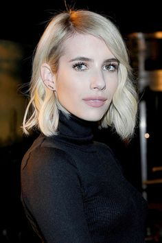 The bob trend is still going strong going into the new year! #hairstyle