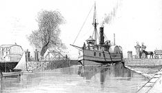 Outaouais' Forest History - Canals, tug-boats and barges Ottawa River, Steam Boats, Erie Canal, Small Sailboats, Lake Champlain, Park Around, New York, Tug Boats