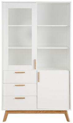 andas Vitrine »Kensal white«, Höhe 170 cm ab 749,99€. Ideal für kleine Räume, In…