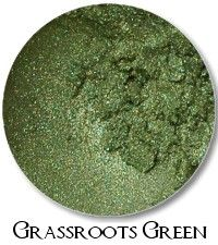 Grassroots Green- layered shimmery green*