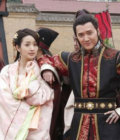 Wiiliam Feng Shao Feng & Ariel Lin. Prince on Lan Ling