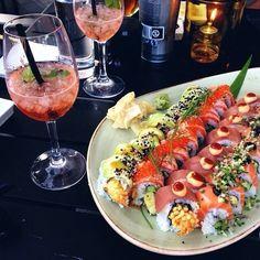 Platter of Sushi Jai Faim, Asian Recipes, Healthy Recipes, Sushi Love, Food Porn, Food Goals, Mets, Food Cravings, My Favorite Food
