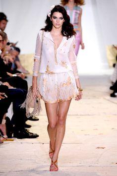 Kendall Jenner - Diane von Furstenberg spring/summer 2016 show collection pictures   Harper's Bazaar