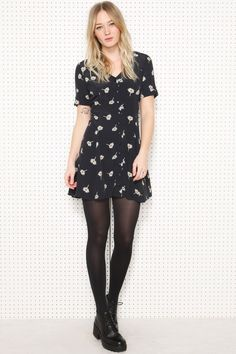 Pins + Needles Daisy Vintage Dress at Urban Outfitters