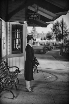 Vintage Train Station by David J Crewe, via Flickr