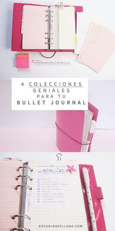 Colecciones cukis para tu Bullet Journal ;)