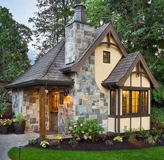 whimsical outdoor playhouse | whimsical cottage house | Playhouses,Garden Sheds,