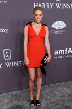 Actress Chloe Sevigny attends the amfAR New York Gala 2017.