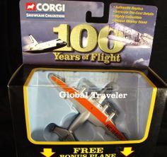 Corgi 100 Years of Flight NEW Showcase Boeing Clipper Pan Am British Concorde #Corgi