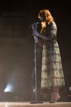 Florence + the Machine performing at MEO Arena, Lisbon, Portugal #HowBeautifulTour