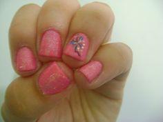 rosa com borboletinha!!!