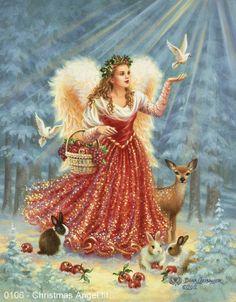 Christmas Angel - Gelsinger Licensing Group – Artwork - By: Dona Gelsinger - Artist