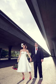 true love photo on rock and roll bride