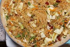 Pancit Bihon is a Filipino noodle dish that incorporates vegetables and meat. There are a number of variations throughout the Philippines and each variation is its own unique spin on the dish. I find the style of pancit I make is a pretty simple, basic… Filipino Dishes, Filipino Recipes, Asian Recipes, Crockpot Recipes, Chicken Recipes, Filipino Food, Ethnic Recipes, Asian Foods, Chinese Recipes
