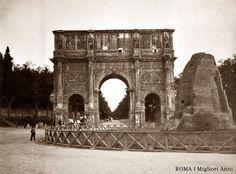Arco di Costantino e Meta Sudans 1905