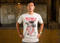 """""""Welcome to Twin Peaks"""" - Threadless.com - Best t-shirts in the world"""