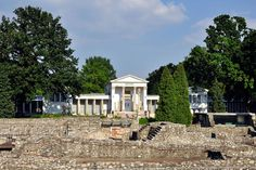 Aquincum museum and ruin garden (UNESCO World Heritage Site) - Budapest, Hungary
