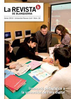 Coberta La revista de Blanquerna, 21, 2010 #design #university #Blanquerna