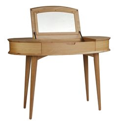 Orbit Dressing Table with Mirror - Matt Blatt $795