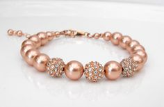 Hey, I found this really awesome Etsy listing at https://www.etsy.com/listing/179436559/rose-gold-bracelet-rose-gold-jewelry
