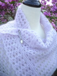 Shell Script Wrap and Scarf - PATTERN / PDF on Etsy, $1.99