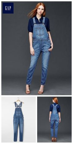 5ac648055c57 1969 denim slouch ankle overalls Overalls Women