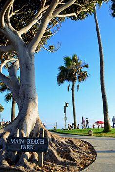Main Beach Park Laguna Beach California