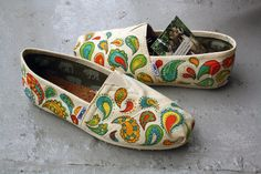 Painted Toms!