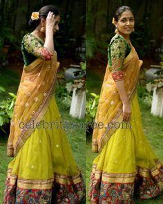 Benaras Lehenga | Saree Blouse Patterns