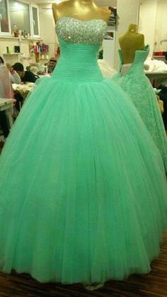 Items similar to Long Prom Dress, Elegant Sweetheart Beaded Long Prom Dress, Crystal Ball Gown Prom Dress, Evening dress, Party Dress on Etsy Cute Prom Dresses, Beautiful Prom Dresses, Pageant Dresses, Quinceanera Dresses, Dance Dresses, Homecoming Dresses, Pretty Dresses, Wedding Dresses, Dress Prom