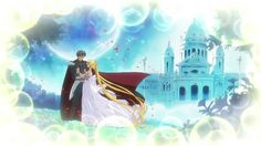 Princess Serenity and Prince Endymion and the Moon Kingdom from Sailor Moon Crystal