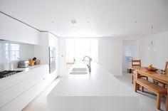 Corian® Island by Newcastle Furniture Company and Ruth Bond Interior ...