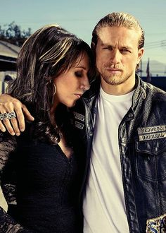 ~Sons Of Anarchy ~Mother & Son...Gemma Teller & Jax Teller ~V''''''V